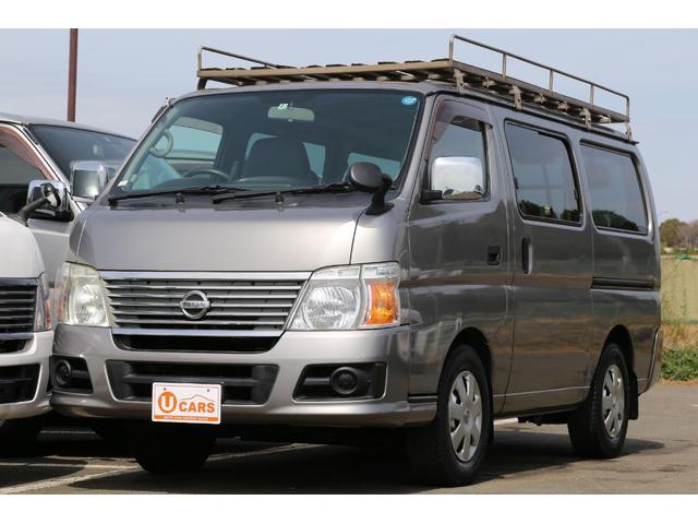 日産 ロングDX EXパック 軽油ターボ 4WD  ナビ ETC
