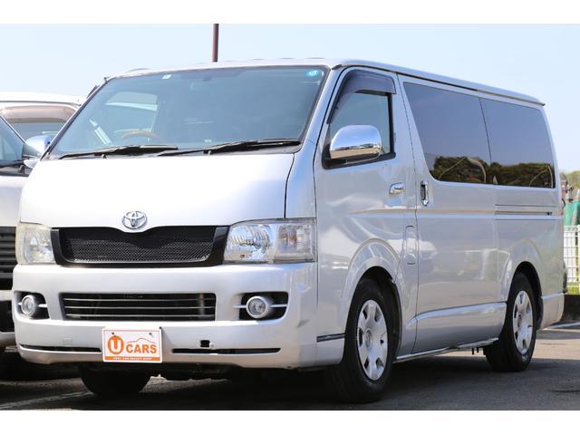 トヨタ ロングスーパーGL 4WD 軽油ターボ HDDナビ ETC