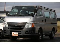 キャラバンロングDX 軽油ターボ NOx適合 5ドア低床 キーレス
