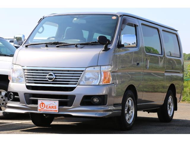 日産 ロングDXターボV-LTD II 切替式4WD ナビ ETC