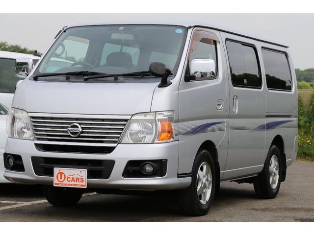 日産 ロングGX 軽油ターボ NOx適合 5ドア低床 HDDナビ