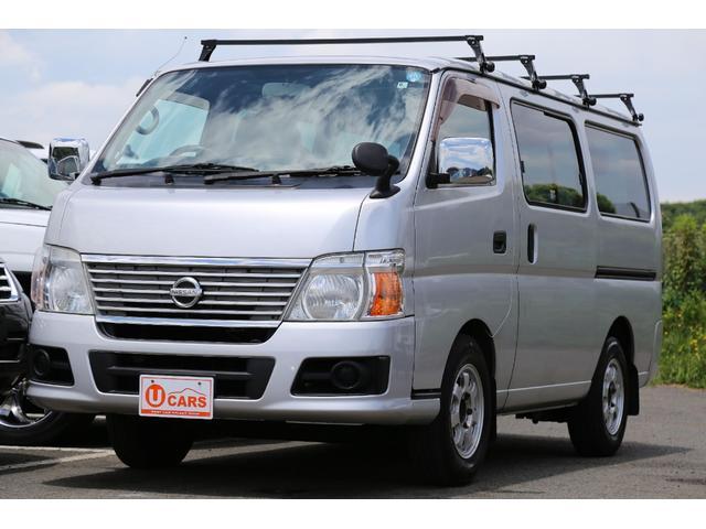 日産 ロングDX 軽油ターボ NOx適合 5ドア低床 ナビ ETC