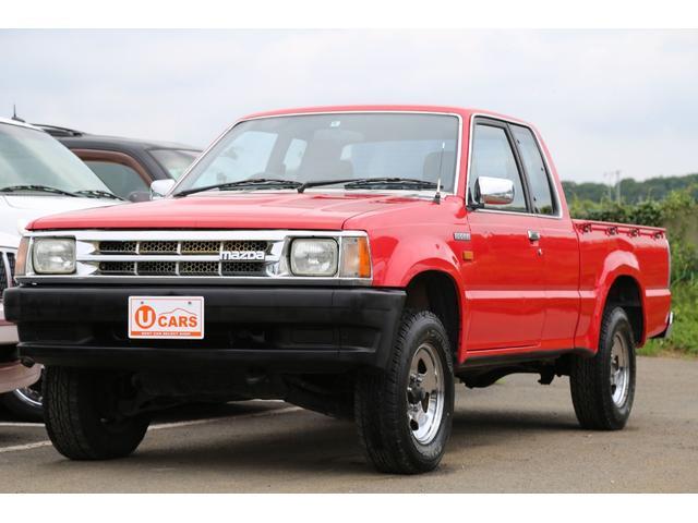 マツダ キャブプラス 4WD 5MT 1ナンバー貨物 純正レッド