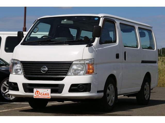 日産 ロングDX軽油ターボ 切替式4WD NOx適合 両側スライド