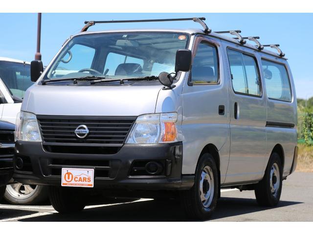 日産 ロングDX 軽油ターボ 切替式4WD 両側スライドドア
