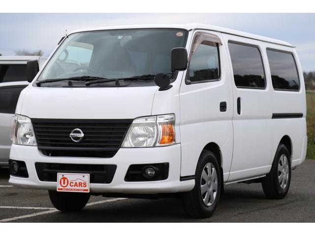 日産 キャラバン ロングDX 5AT ガソリンNox適合 5ドア 低床