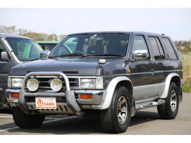 日産 V6-3000 ガソリン車 4WD 日産純正グリルガード