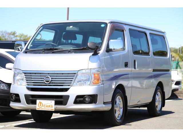 日産 ロングGX 軽油ターボ 4WD Nox適合 5ドア低床