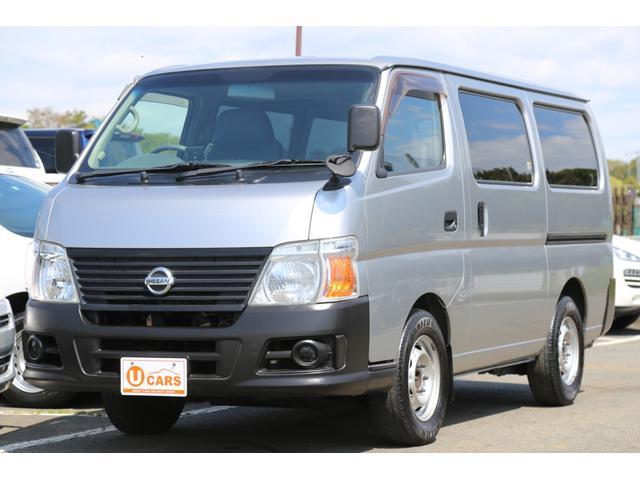 日産 ロングDX 軽油ターボ Nox適 5ドア 低床 Wエアコン
