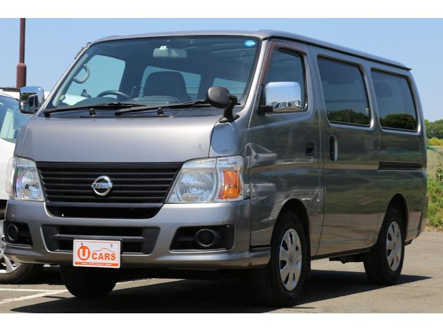日産 ロングDX ガソリン 5AT 6人乗 5ドア低床 ナビETC