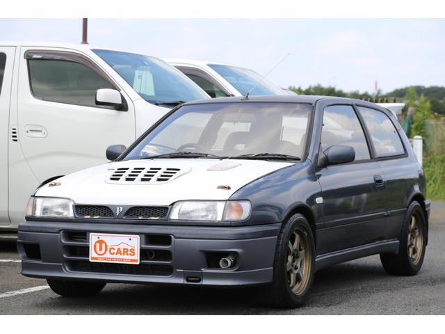 日産 パルサー GTI-R 4WD 5速MT ターボ クロスミッション ・APEXiパワーFC・RAYS15インチAW・社外マフラー・社外3連メーター・電格式リモコンドアミラー・オーリンズサスペンション・FRPボンネット、ウイング・機械式LSD2way
