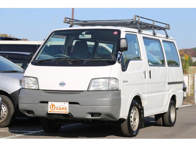日産 DX ガソリン/両側スライドドア/5速マニュアル/ルーフキャリア