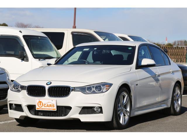 BMW 3シリーズ 320i Mスポーツ 純正18AW/HDDナビ/USB/Bluetooth/ETC/バックカメラ/スマートキー/バイキセノン/ドラレコ/メモリーPシート/パドルシフト