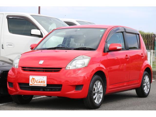トヨタ パッソ X Fパッケージ キーレス/スマートキー/ETC/ABS/電動格納ミラー/Wエアバック/社外14インチAW/ドアバイザー/ベンチシート/タイミングチェーン