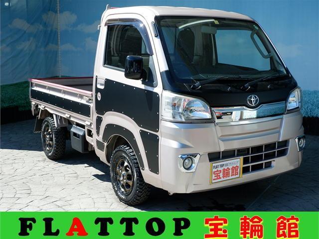 トヨタ エクストラ HARD CARGOデカール/MAD CROSSアルミ/MTタイヤ新品/CD/ETC/パワーウィンドウ/キーレス
