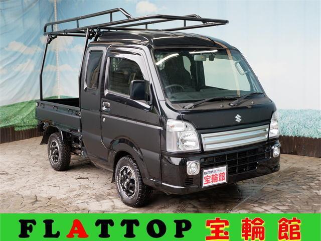 スズキ スーパーキャリイ X HARD CARGO仕様/4WD/新品MAD12AW/新品MTタイヤ/イージーデカール/新品ナビ/DVDビデオ/フルセグTV/Bluetooth/ バックカメラ