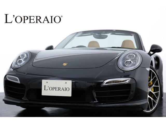 ポルシェ 911ターボSカブリオレPDK PCCB PDCC 保証付