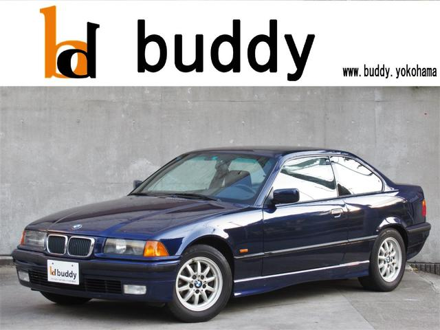 BMW 318isクーペ左ハン5速MT天張りピラー張替済記録簿17枚