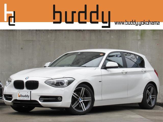 BMW 1シリーズ 120i スポーツ ターボ 8速AT iDriveナビ Bluetooth バックモニター コンフォートアクセス デイライトコーディング 正規ディーラー車