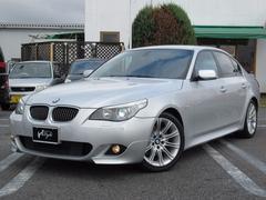 BMW530i Mスポーツ HDDナビ ハーフレザー ETC 禁煙