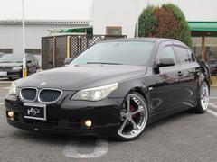 BMW525i ナビ 20AW エアロ WALDマフラー HID