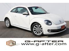 VW ザ・ビートルデザインレザーPKG 黒本革シート社外ナビ地デジバックカメラ
