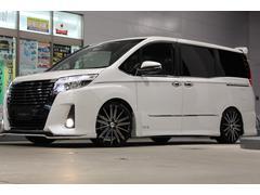 ノアSi Kスペックデモカーフロントリップエアロ車高調19アルミ