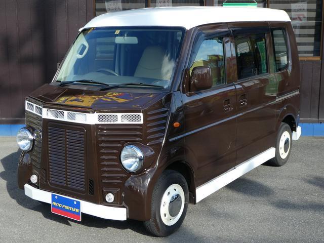 スズキ PA フレンチバス仕様 社外エアロ 社外シートカバー