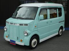 エブリイPA フレンチバス仕様 社外エアロパーツ 革調シートカバー