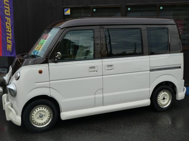 スズキ エブリイ カスタムバス HDDナビ シートカバー キーレス 5速MT