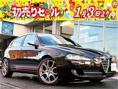 アルファ147ドゥカティ コルセ・限定車・社外HDDナビ・HID・レザーS