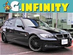 BMW320iツーリング・19AW・ローダウン・HDDナビ・ETC