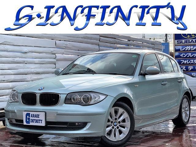 BMW 116i ・後期型・1オーナ車・走行3.3万キロ・記録簿・禁煙車・社外HDDナビ・AUX外部入力端子・DVD再生・ミュージックサーバー・バックカメラ・HID・ETC・T式エンジン・キーレス・Pスタート