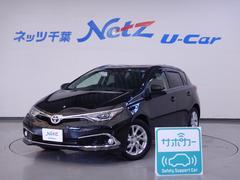 オーリス150X Sパッケージ サポカー 前歴当社社用車