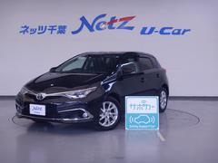 オーリス150X Sパッケージ 前歴当社社用車 純正メモリーナビ