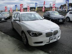 BMW120i スタイル コンフォートアクセス ハーフレザーシート