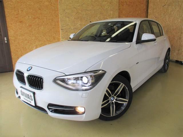 BMW 120iスポーツ 純正ナビ コンフォートアクセス ターボ♪