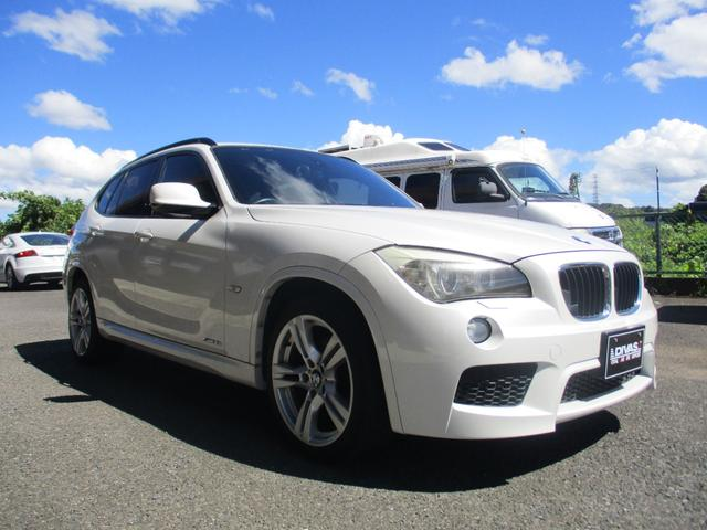 BMW X1 sDrive 18i Mスポーツ Mスポーツ専用シート コンフォートアクセス 純正ナビ 地デジ バックカメラ Mスポーツ専用17インチアルミ HID FOGランプ