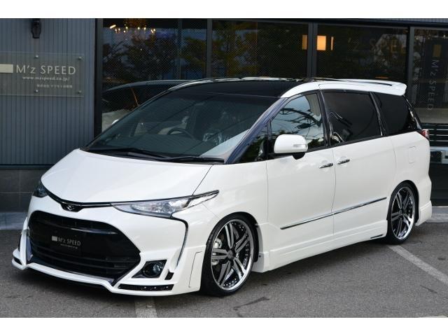 トヨタ アエラス ZEUS新車コンプリートカー車高調20インチエアロ
