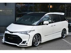 エスティマアエラス ZEUS新車コンプリートカー車高調20インチエアロ