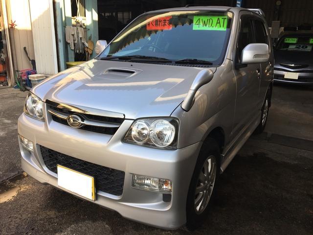 ダイハツ カスタムL 4WD モモステリング CD