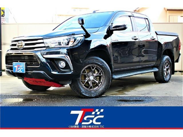 トヨタ Z 1オーナー禁煙車/セーフティセンス/純正ナビ/フルセグ/バックカメラ/Bluetooth/ETC/ドラレコ/クルーズコントロール/TRD/ジャオス17AW/トノカバー/マットガード