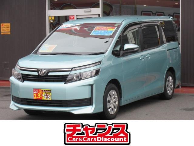 トヨタ ヴォクシー X ナビ フルセグ DVD Bluetooth ETC フリップダウンモニター 両側パワースライドドア スマートキー アイドリングストップ