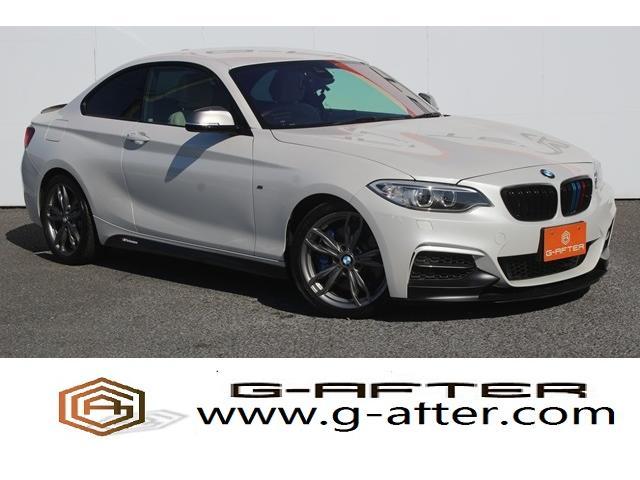 BMW M235iクーペ 6MT白革純正ナビバックカメラドライビングアシスト自動追従ハーマンカードンコンフォートアクセス