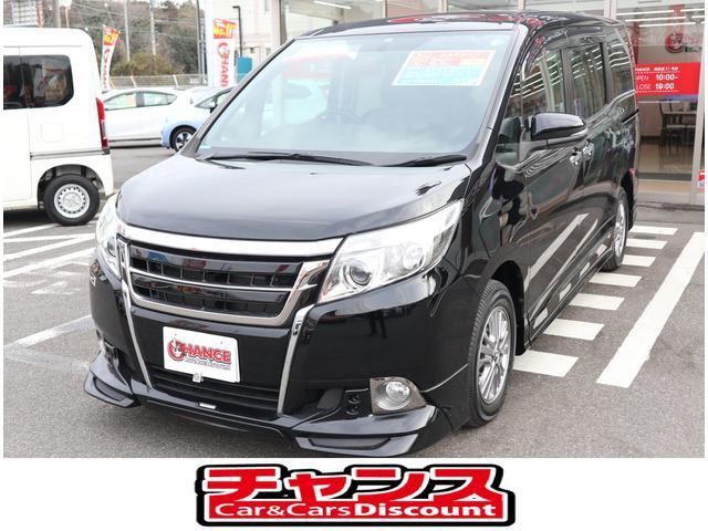 トヨタ エスクァイア Xi メモリナビ バックモニタ 左電動スライドドア CD BT フルセグ