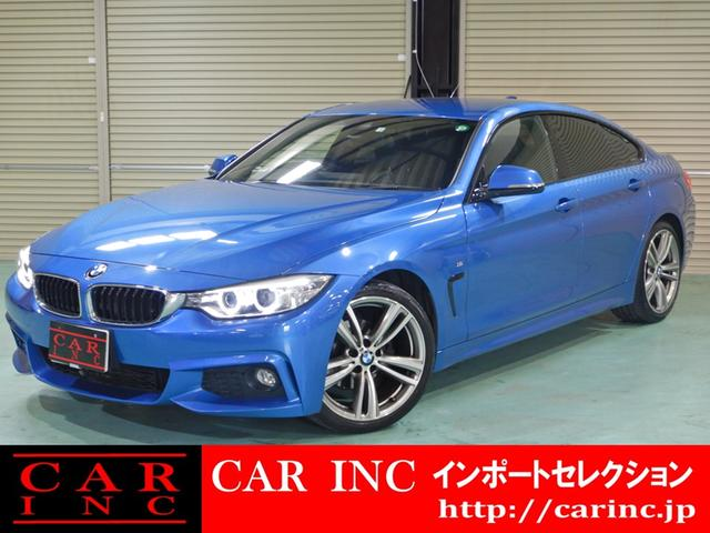 BMW 4シリーズ 420iグランクーペ Mスポーツ ワンオーナー ドライビングアシスト ダコタ・レザーシート シートヒーター パワーシート 社外地デジ リアビューカメラ 19インチAW