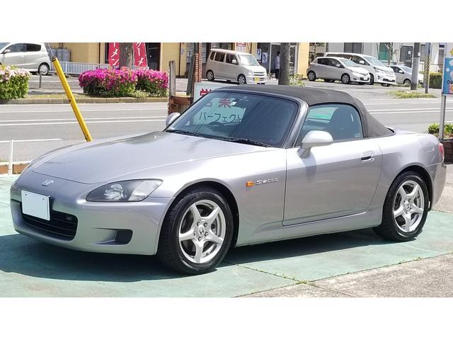 S2000(ホンダ) ベースグレード ディスチャージ キーレス プッシュスタート モデューロ2本出しマフラー エンドレス車高調 中古車画像