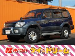 ランドクルーザープラドTX 4WD キーレス 電格ミラー 純正ナビ
