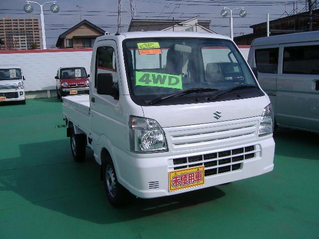スズキ KCエアコン・パワステ 4WD 届出済未使用車 最新型