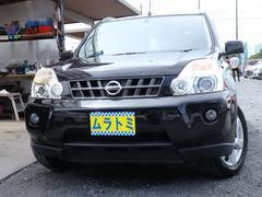 エクストレイル20X 4WD ナビ サイド Bカメラ カブロンシート